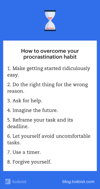 how to not procrastinate Stop procrastinating by erin greenawald luckily, there are a couple things any of us can take from this research to help nip our procrastination habits in the bud.